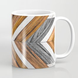 Urban Tribal Pattern No.4 - Wood Coffee Mug