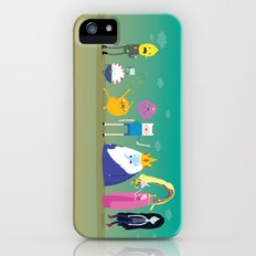 Adventure time characters iPhone (5, 5s) Slim Case