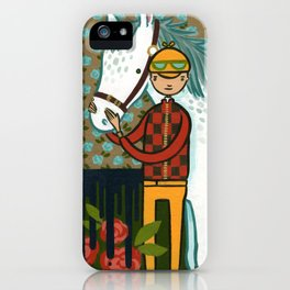 FOUR HORSEMEN OF THE APOCALYPSE SERIES: 1 OF 4- THE WHITE HORSE iPhone Case