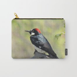 Acorn Woodpecker At Rest Carry-All Pouch