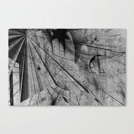 Wielded Star Canvas Print