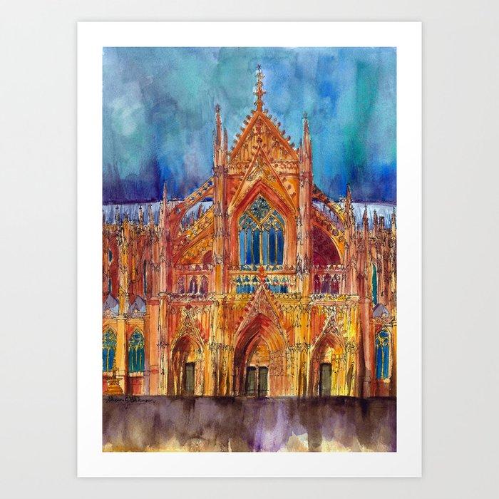 Colonia Art Print