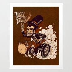 Abe FINKoln Art Print