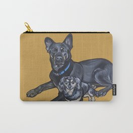 Lincoln and Zelda Carry-All Pouch