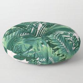 Jungle Leaves Siesta #1 #tropical #decor #art #society6 Floor Pillow