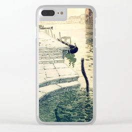Marble Steps - Frits Thaulow -1903 Clear iPhone Case