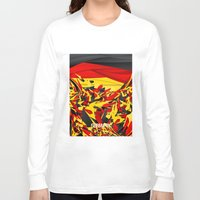 germany Long Sleeve T-shirts featuring Germany by Danny Ivan
