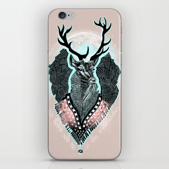 Wind:::Deer iPhone & iPod Skin