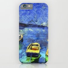 Boats and Sea Impressionist Art iPhone 6s Slim Case