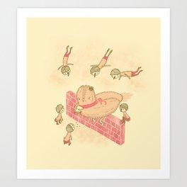 Bird food Art Print