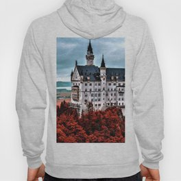 The Castle of Mad King Ludwig in the Autumn, Neuschwanstein Castle, Bavaria, Germany Hoody