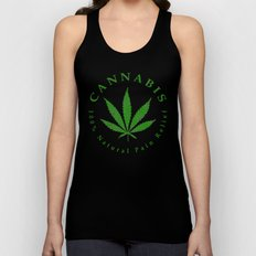 Cannabis Unisex Tank Top