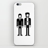 justice iPhone & iPod Skins featuring Justice  by Band Land