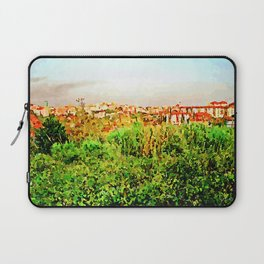 Catanzaro: green and buildings Laptop Sleeve