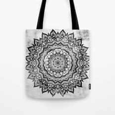 BLACK JEWEL MANDALA Tote Bag