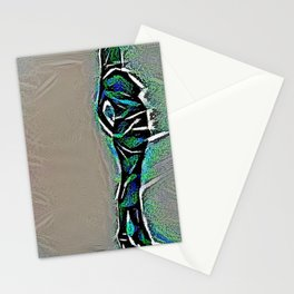 Female Built by Multiple Nausea Cracks Stationery Cards