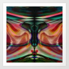 Funkosphere Art Print