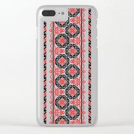 Ukrainian Pattern 1 Clear iPhone Case