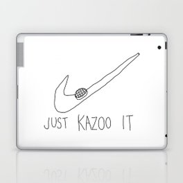 just kazoo it Laptop & iPad Skin