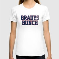 patriots T-shirts featuring BRADY'S BUNCH by FanCity