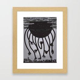 The Devourer Framed Art Print