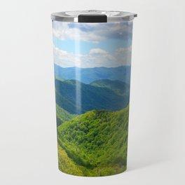 Smokey Mountain Summer Travel Mug