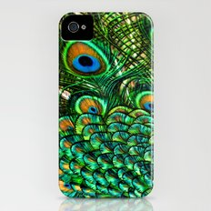 Peacocks Tail iPhone (4, 4s) Slim Case
