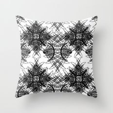 Knives Pattern Throw Pillow