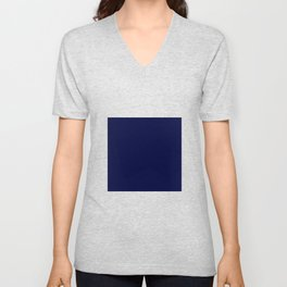 Blue Midnight Unisex V-Neck