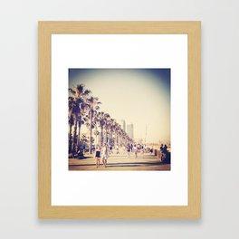 What a Beach Framed Art Print
