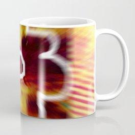 Yellow flower and line Coffee Mug