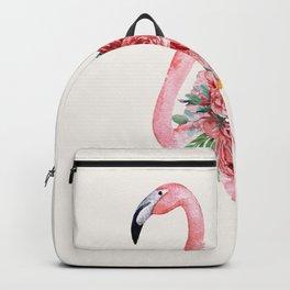 Flamingo Floral Backpack
