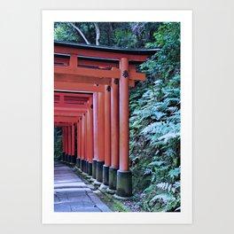 Inari Gates Galore Art Print