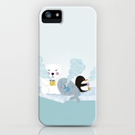 polar coffe iPhone Case