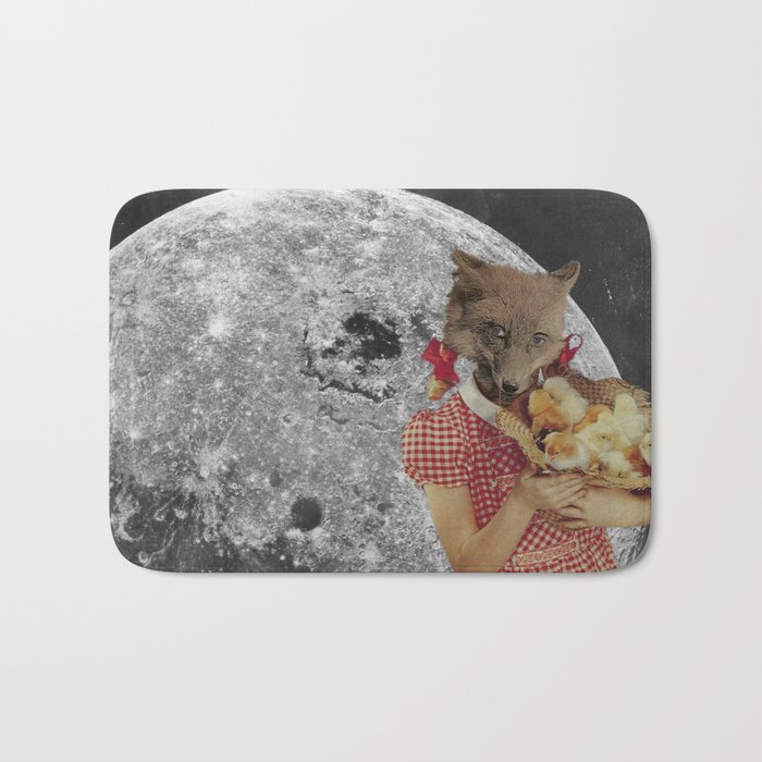 Counting chickens Bath Mat