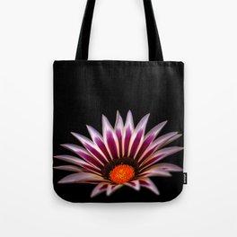Big Kiss White Flame Flower Tote Bag