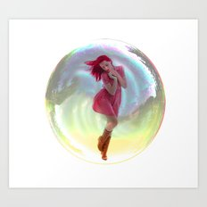 bubble wrap Art Print