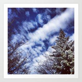Sky High-1 Art Print