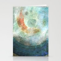 saturn Stationery Cards featuring Saturn by Fernando Vieira
