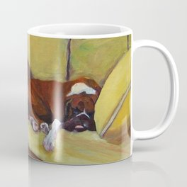 Boxer Dog Siesta Coffee Mug