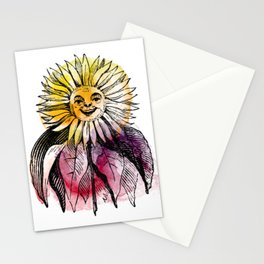 Hood's Own Sunflower Stationery Cards