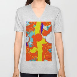 Holiday Excursion        by Kay Lipton Unisex V-Neck