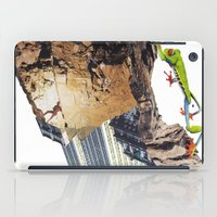 climbing iPad Cases featuring Climbing by Lerson