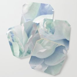 Peony in Blue White Coaster