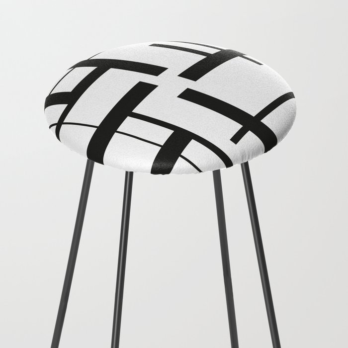 Lines #3 Counter Stool