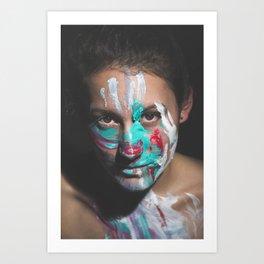 Colors of Women, J.F. Art Print