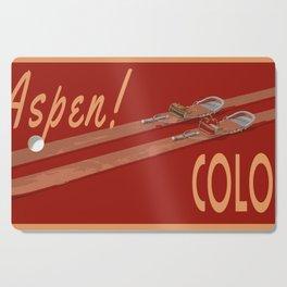 Ski Aspen Colorado Cutting Board