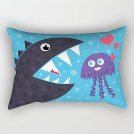Impossible love Rectangular Pillow