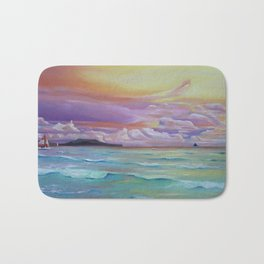 Boracay sunset Bath Mat