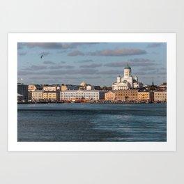 HELSINKI 01 Art Print